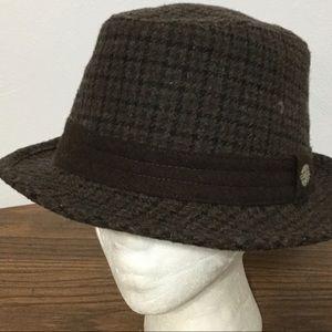 GRAND ROYAL KNIGHTS Fedora Mens M/L Brown Hat Cap